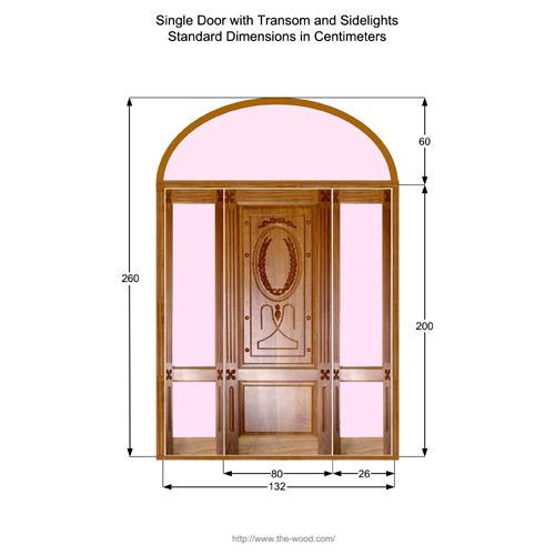 SINGLE WOODEN DOOR DOORS