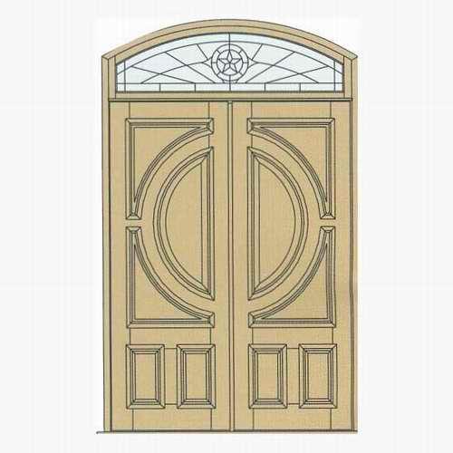 Arched doors arched wood doors teak arched doors custom for Round door design