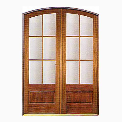 wood french doors 2