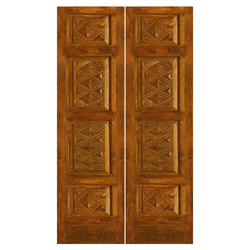 Exterior Door Exterior Double Door Build In Genuine Burmese Teak