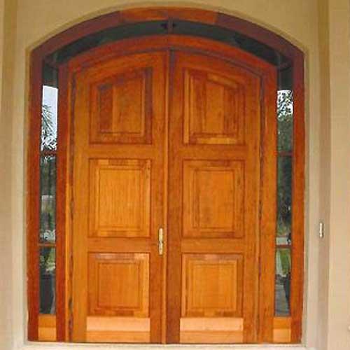Round doors designs gc series round top double plank for Round door design